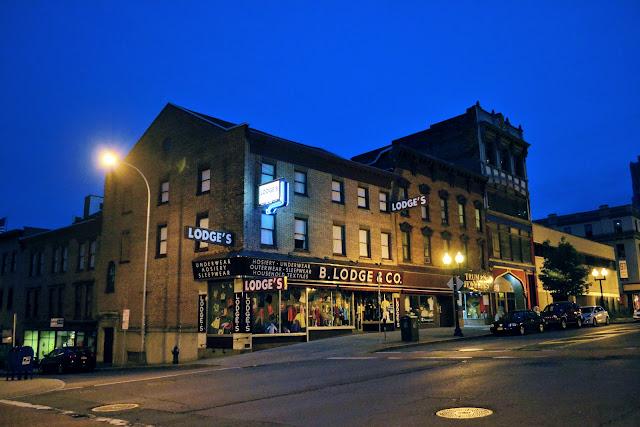 Олбані, столиця штату Нью-Йорк, США (Albany, the state capital of New York)