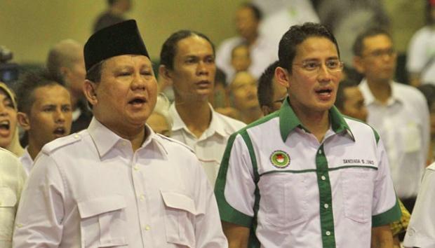 Prabowo Tawarkan Nama Sandi Sebagai Cawapres ke PKS
