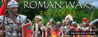 3 for 2 Roman Wars Sale