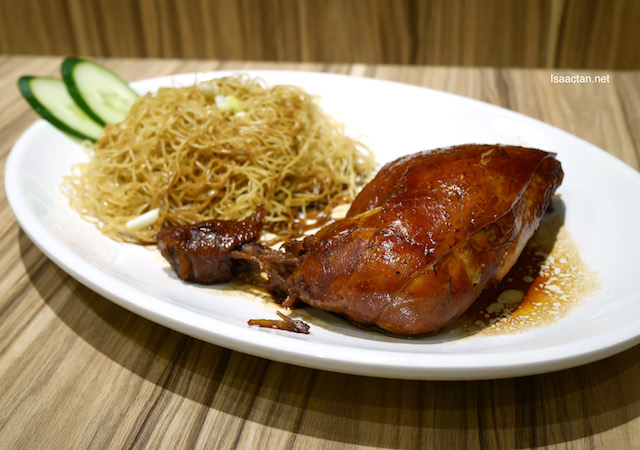 Swiss Chicken Leg Dry Noodle