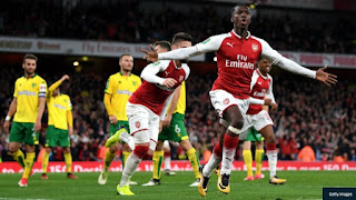 Arsenal 2 – 1 Norwich City (EFL Cup 2017/2018: Soccer Highlights)