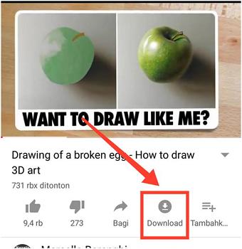 cara nonton Youtube tanpa kuota di Android