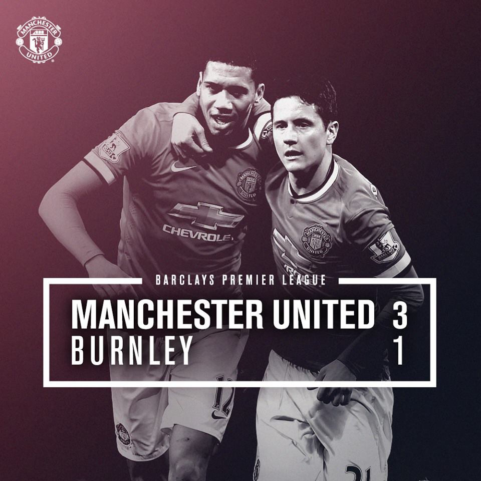 Manchester United vs Burnley 3-1 Cuplikan Video Gol