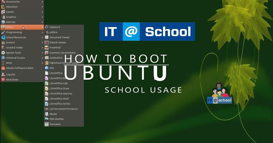 Download and Install IT@School Ubuntu 18 04 Along With