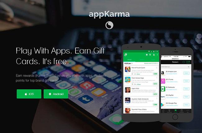 AppKarma - Gana dinero con una aplicación móvil