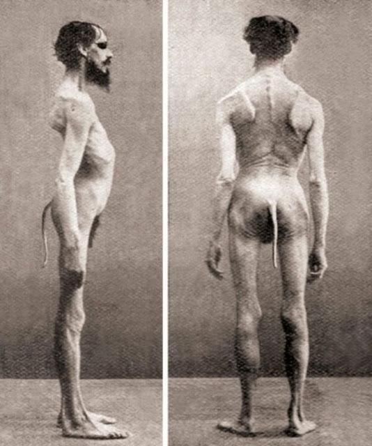 gambar orang aneh laki laki yang memiliki ekor
