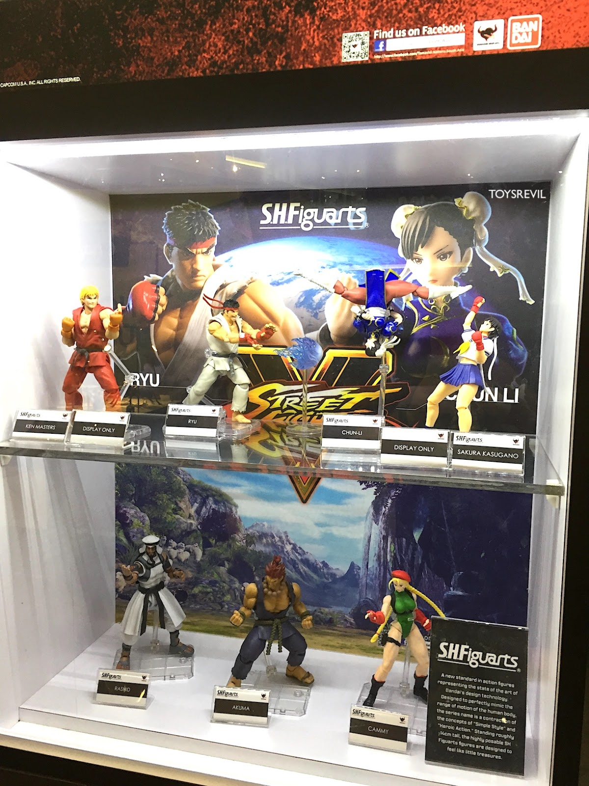 S H Figuarts Street Fighters From Tamashii Nations Compassone