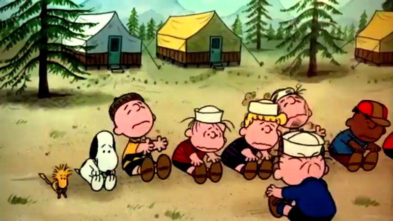 Escapa Charlie Brown Escena 7