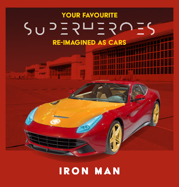 Iron Man - Ferrari F12 Berlinetta