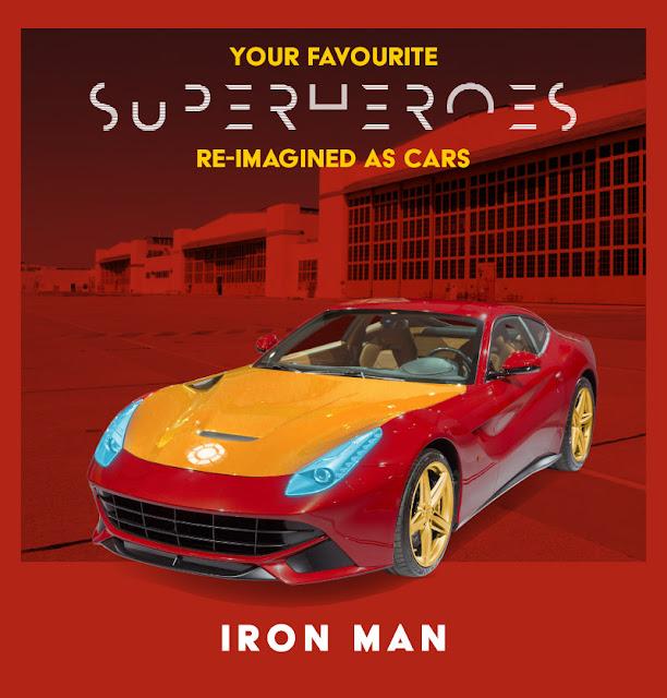 Iron Man - Ferrari F12 Berlinetta