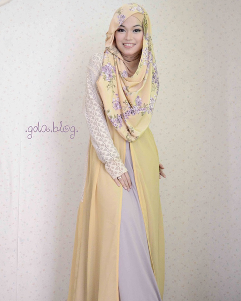 model baju muslim casual