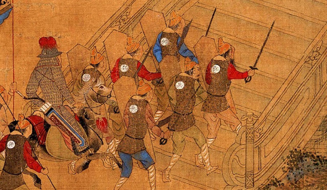 Ming Chinese Swordsmen