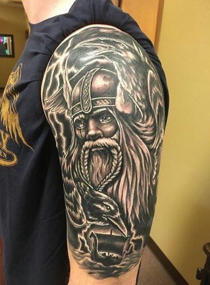 50 amazing vikings tattoos designs and ideas 2017 for Did vikings have tattoos