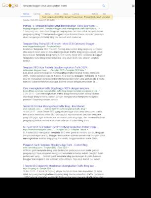 Kenapa artikel tidak muncul dihalaman google ?