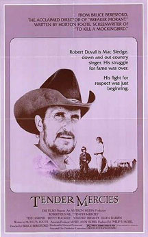 Original film poster Tender Mercies 1983 movieloversreviews.filminspector.com