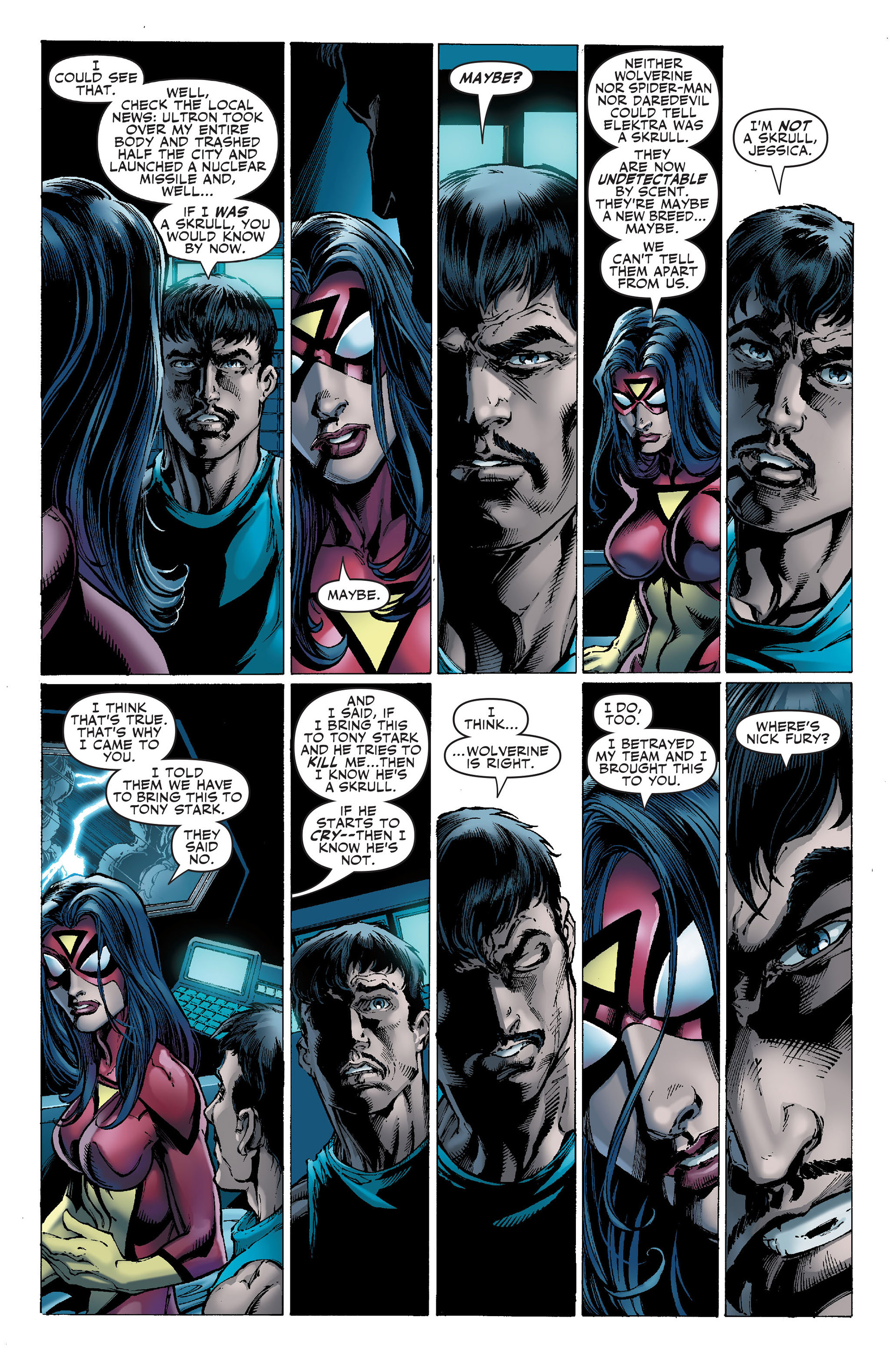 Read online Secret Invasion: The Infiltration comic -  Issue #1 - 6