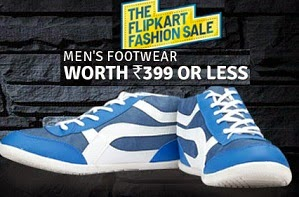 Buy Men's Footwear for Rs.399 or less@ Flipkart