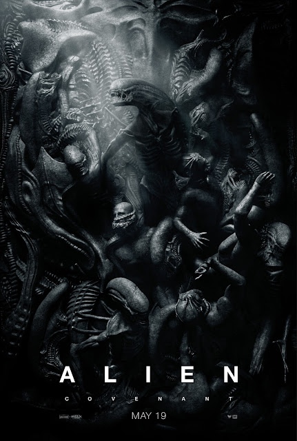 Alien: Covenant Zenomorph Teaser Theatrical One Sheet Movie Poster