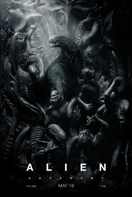 Alien: Covenant Zenomorph Teaser Theatrical One Sheet Movie Poster