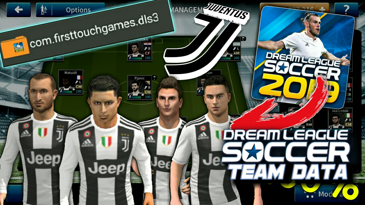 detailed look eed29 bc368 GET Juventus FC Team Players, Logo, Kits in Dream League ...