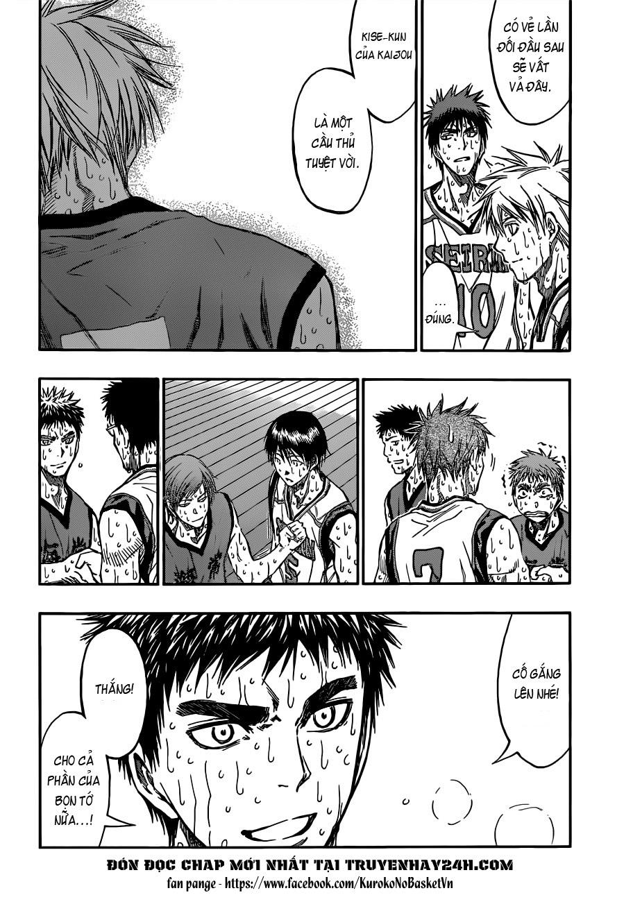 Kuroko No Basket chap 203 trang 7