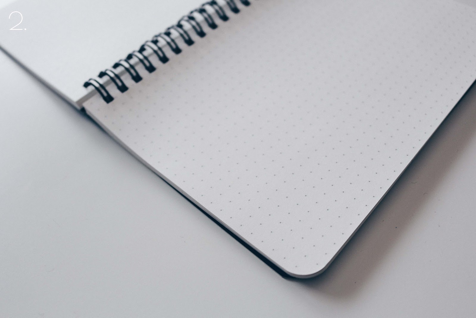 dotted notebook for calligraphy