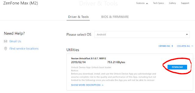 Cara Resmi untuk Unlock Bootloader Asus Zenfone Max M Cara Resmi untuk Unlock Bootloader Asus Zenfone Max M2 (X01A)