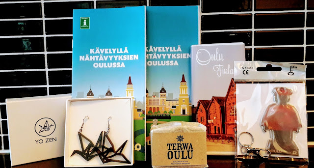 Visit and walk in Oulu