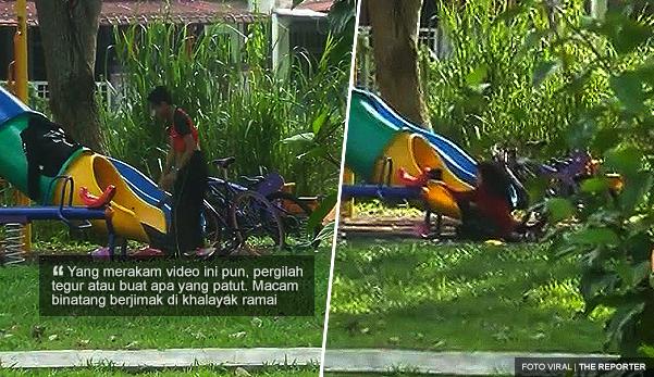 'Macam binatang berjimak di khalayak' - Netizen
