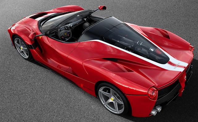 1台だけ追加生産された「ラ フェラーリ・アペルタ」が約10億7700万円で落札!21世紀に製造された自動車のオークション最高額を更新。