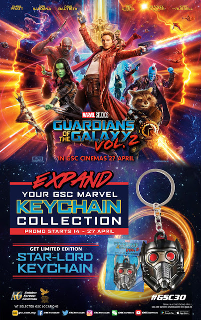 GSC Free Guardian of the Galaxy Star-Lord Keychain Promo