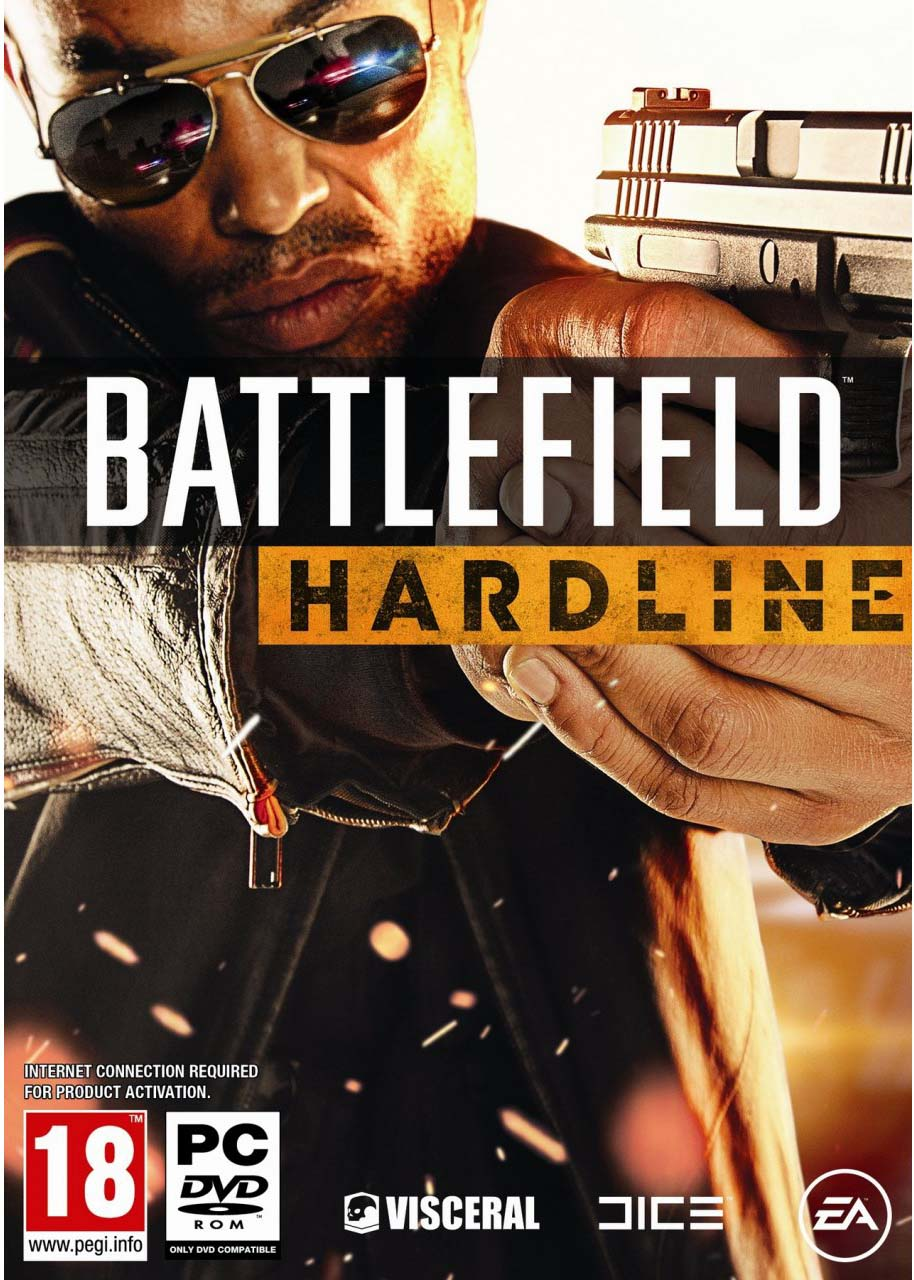 Battlefield Hardline ESPAÑOL PC Full Cover Caratula