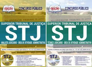 apostila concurso STJ tecnico 2018