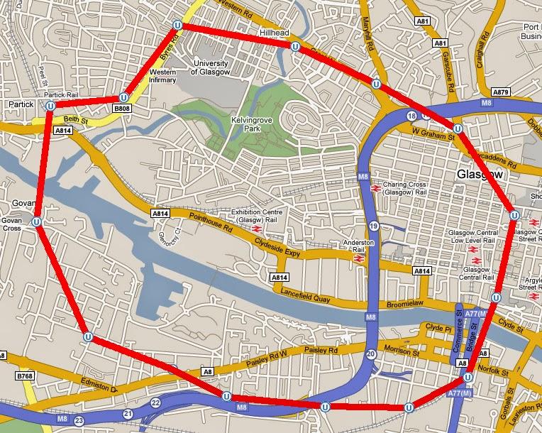 Glasgow Underground Map Glasgow Subway Map   Free Printable Maps Glasgow Underground Map