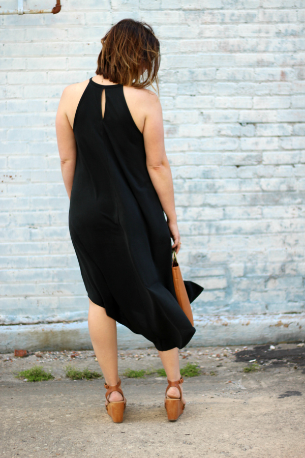 how to style a black maxi dress, bohoblu, style on a budget, mom style