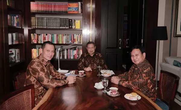 SBY Akan Menjadi Cawapres Prabowo