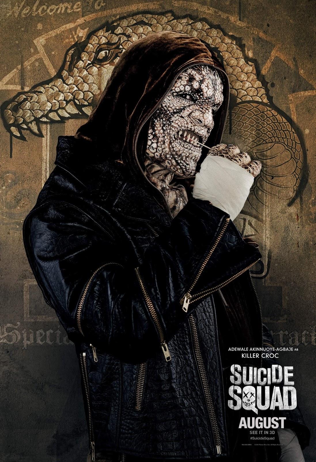 Nuevos pósters individuales de los personajes del Escuadrón Suicida