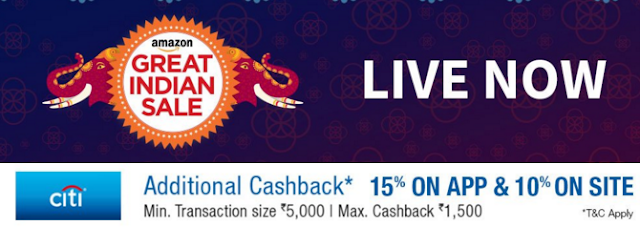 Amazon Great Indian Sale from 21st to 23rd January, 2016