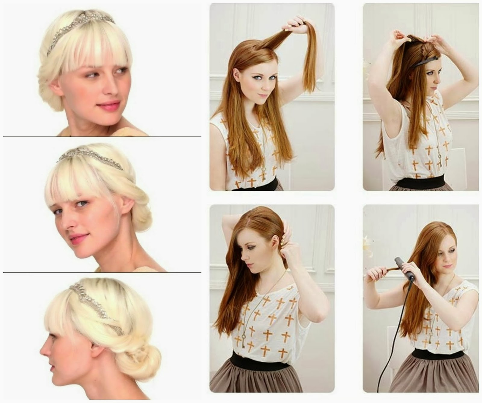Try A Diffe Hair Style Every Week Make Them To Your Friend Sister Or Mom