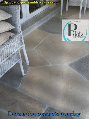 #decorativeconcrete #decorativeoverlay #concrete #patiodeck #residential