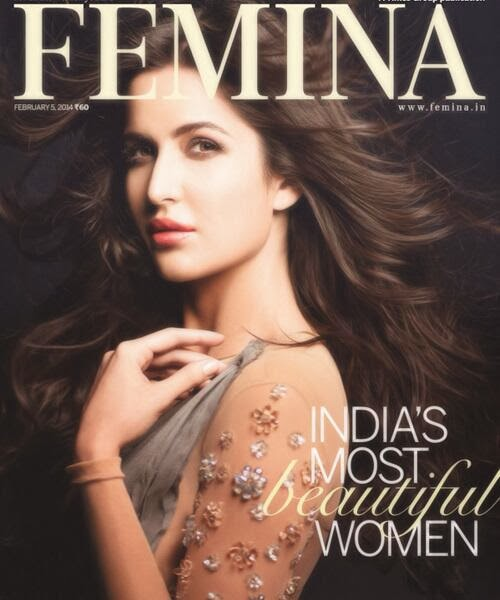 Katrina Kaif : India's most beautiful woman on the covers of Femina