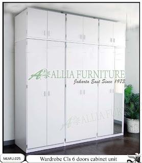 Lemari minimalis plafon cabinet unit Cls