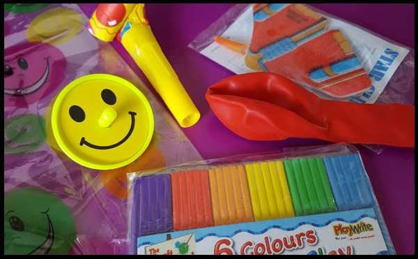 Smiley Pre-filled Party Bag - 70p