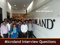 Microland Interview Questions
