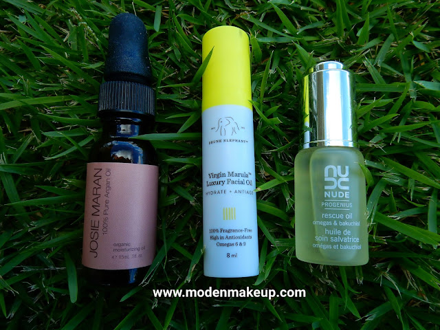 Travel size beauty oils - www.modenmakeup.com