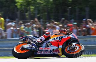 Marquez Tercepat Latihan Bebas Ketiga (FP3) MotoGP Austria 2017