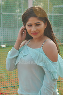 Madhulagna Das looks super cute in White Shorts and Transparent Top 61.JPG