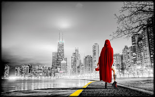 city Red Riding Hood