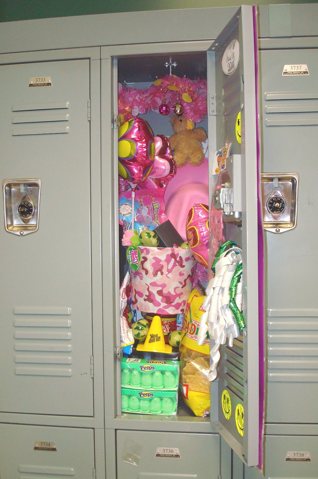 How To Decorate A Girls Locker Birthday