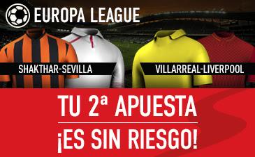 sportium segunda apuesta Europa League con seguro 28 abril